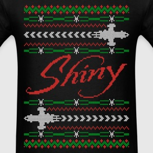 Shiny Ugly Christmas sweater for fan - Men's T-Shirt