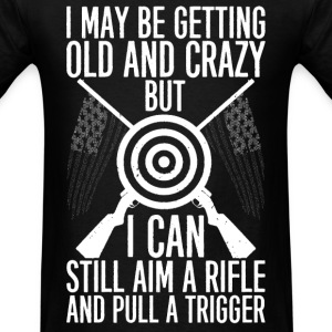 Shooter - Aim a rifle and pull a trigger - Men's T-Shirt