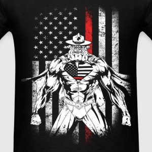 Devil Dog - American Devil Dog T - shirt - Men's T-Shirt