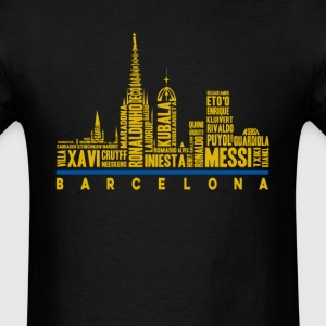 Barcelona football club fan - Ronaldinho Messi - Men's T-Shirt