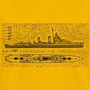 Benson Battleship - Men's Premium T-Shirt