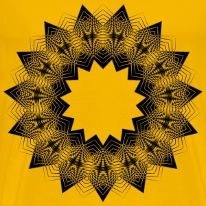 High Contrast Star 2 - Men's Premium T-Shirt