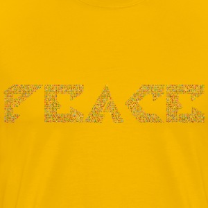 Chromatic Peace Variation 2 No Background - Men's Premium T-Shirt