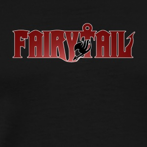 Fairy Tail TV Anime Logo - Men's Premium T-Shirt