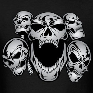 Pile of Skulls T-Shirts - Men's T-Shirt