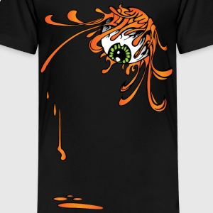 Flaming Eyeball Kids' Shirts - Kids' Premium T-Shirt