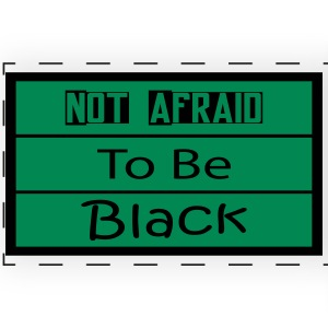 Not Afraid To be black - Full Color Panoramic Mug
