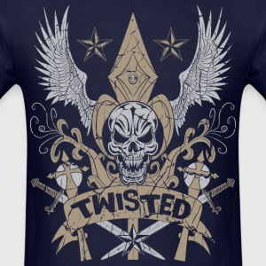 Twisted Medieval Wings T-Shirts - Men's T-Shirt