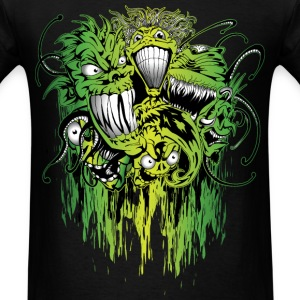 Crazy Ghoul Gang T-Shirts - Men's T-Shirt