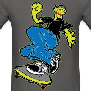 Monster Skateboarding T-Shirts - Men's T-Shirt