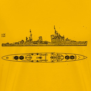 Sheffield Battleship - Men's Premium T-Shirt