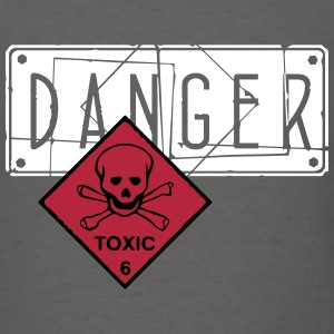 danger toxic_vec_3 us T-Shirts - Men's T-Shirt