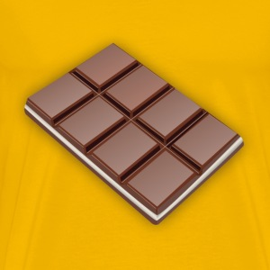 Chocolate bar - Men's Premium T-Shirt