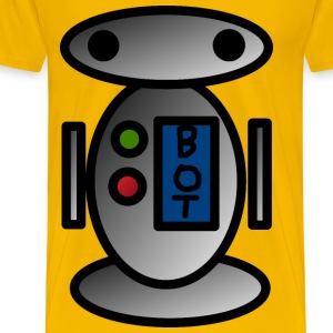 Little robot - Men's Premium T-Shirt