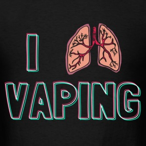 I Breath Vaping - Men's T-Shirt