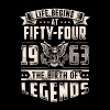 Life Begins At Fifty Four Tshirt - Men's Premium T-Shirt
