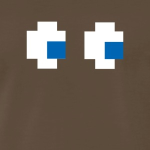 8 Bit Pixel Ghost - Men's Premium T-Shirt