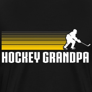 Hockey Grandpa T-Shirts - Men's Premium T-Shirt
