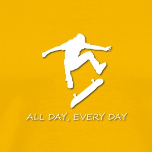 All Day Every Day Skating - Men's Premium T-Shirt