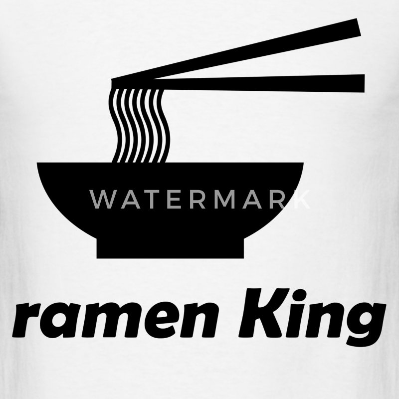 ramen king 112.png T-Shirts - Men's T-Shirt