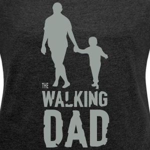 The Walking Dad T-Shirts - Women´s Rolled Sleeve Boxy T-Shirt