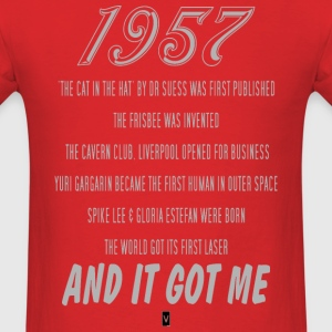 1957 60th birthday - Men's T-Shirt