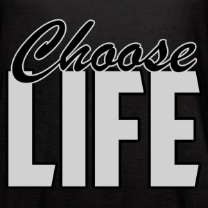 CHOOSE LIFE - Women's Flowy Tank Top by Bella