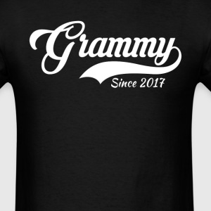 Grammy Since 2017 T-Shirt T-Shirts - Men's T-Shirt