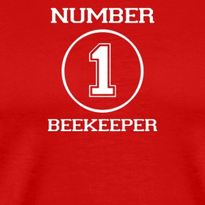 Number 1 Beekeeper - Men's Premium T-Shirt