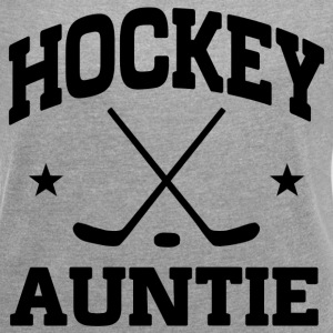 Hockey Auntie T-Shirts - Women´s Roll Cuff T-Shirt