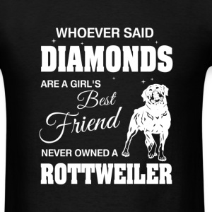 Never Owned A Rottweiler - Men's T-Shirt