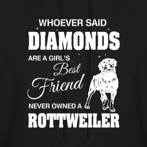 Never Owned A Rottweiler - Men's Hoodie