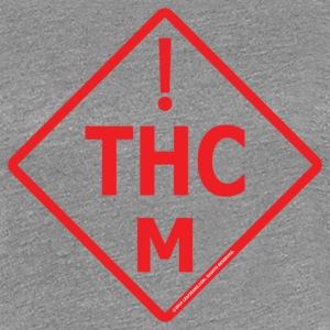 Medical Marijuana Red Logo - Women's Premium T-Shirt