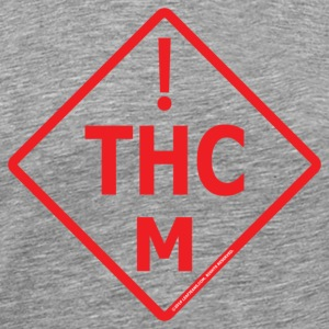 Medical Marijuana Red Logo - Men's Premium T-Shirt