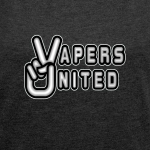 VAPERS UNITED - Women's Roll Cuff T-Shirt