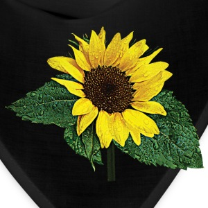 Sunflower in the Rain Caps - Bandana