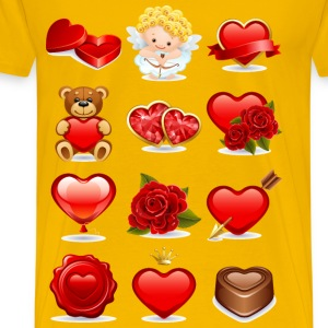 Valentines Pack - Men's Premium T-Shirt