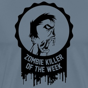Zombie killer of the week award - Men's Premium T-Shirt