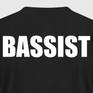 Bassist - Men's T-Shirt by American Apparel