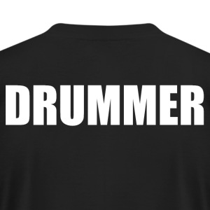 Drummer - Men's T-Shirt by American Apparel