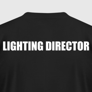 Lighting Director - Men's T-Shirt by American Apparel