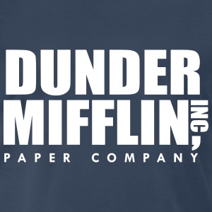 Dunder Mifflin Inc, The Office T-Shirts - Men's Premium T-Shirt