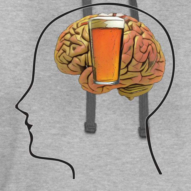 Great Minds Drink Alike Contrast Hoodie