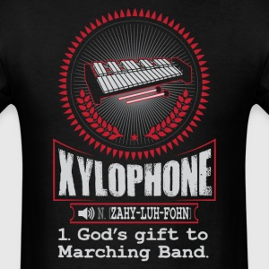 Xylophone God's gift to Marching Band T-Shirt T-Shirts - Men's T-Shirt