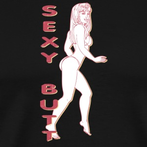 SEXY_BUTT - Men's Premium T-Shirt
