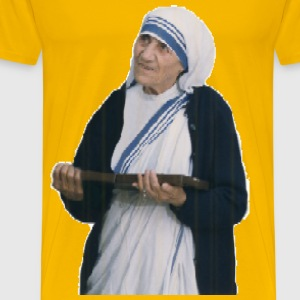 Mother Teresa Mosaic - Men's Premium T-Shirt