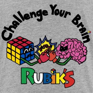 Rubik's Cube Challenge Your Brain - Toddler Premium T-Shirt