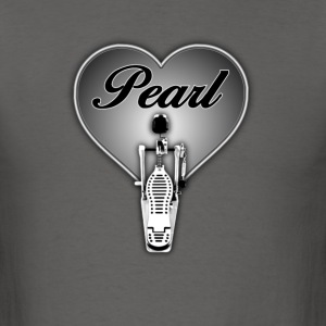 Pearl in heart - Men's T-Shirt