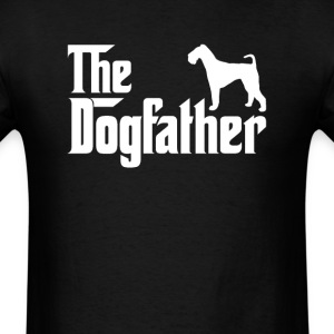 Airedale Terrier DogFather T-Shirt T-Shirts - Men's T-Shirt