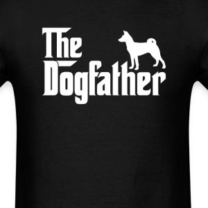 Basenji DogFather T-Shirt T-Shirts - Men's T-Shirt